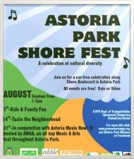Classes at The Astoria Park Shore Fest