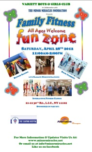 Join Us in the Family Fitness Fun Zone
